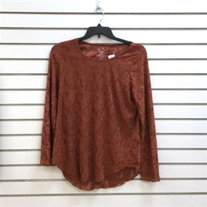 maurices Women's and Women's Plus Long Sleeve Knit Lace Tees